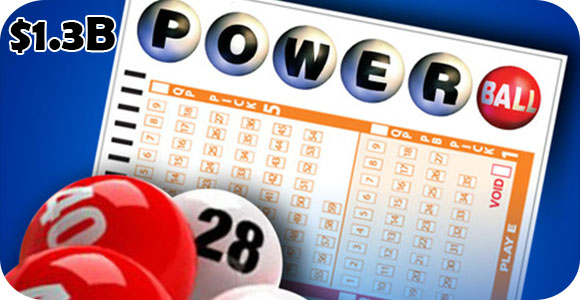 1.3 Billion Powerball Lottery jackpot